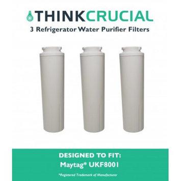 Crucial Air 3 Maytag UKF8001 (RFC0900A) Refrigerator Water Purifier Filters Fit Maytag UKF800 & UKF-8001P