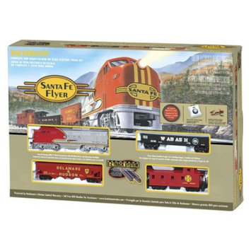 Bachmann Trains Santa Fe Flyer HO Scale Ready To Run Electric Train