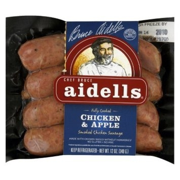 Aidells Sausage Chef Bruce Aidells Fully Cooked Chicken & Apple Smoked Chicken