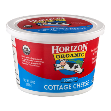 Horizon Organic Lowfat Cottage Cheese Small Curd
