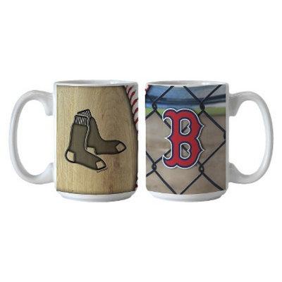 Boelter Brands MLB Red Sox Set of 2 Ballpark Coffee Mug - 15oz