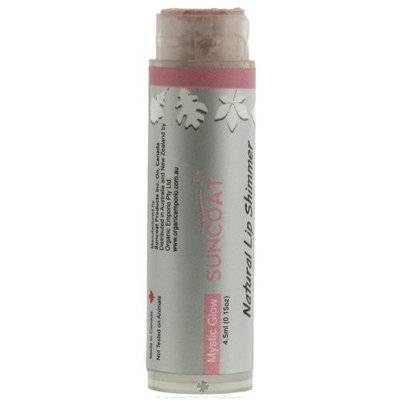 Suncoat Natural Lip Shimmer Mystic Glow