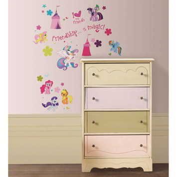 Brewster ST0634 Wallpaper My Little Pony Home Decor Wall Decals; N/A
