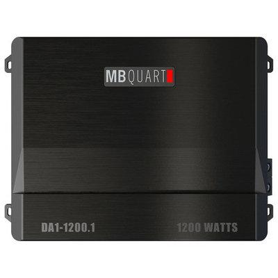 MB Quart - Discus 1200W Class D Mono Amplifier - Black