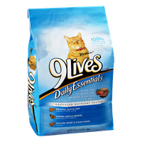 9 Lives Daily Essentials Salmon, Chicken & Beef Cat Food