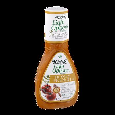 Ken's Light Options Honey French Dressing