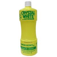 Octagon Crystal White Liquid Detergent: Lemon 40 OZ