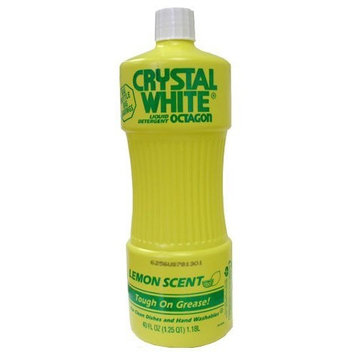 Octagon Crystal White Liquid Detergent: Lemon 40 OZ