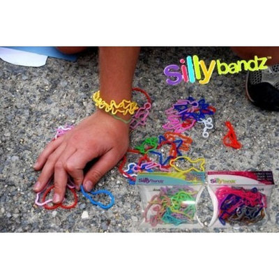 Kandy Kastle Assorted Silly Bandz- 96 Count (4 Packs of 24)