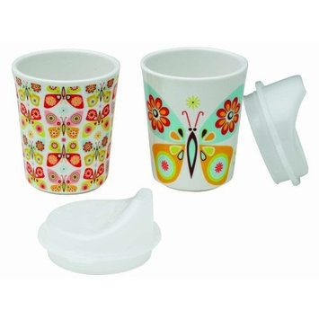 Sugarbooger Sippy Cups Set of 2, Flutterby