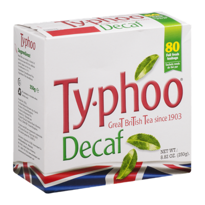 Typhoo Great British Tea Decaf - 80 CT