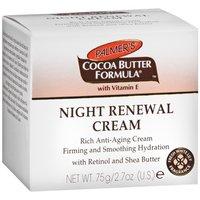 Cocoa Butter Formula Night Renewal Cream
