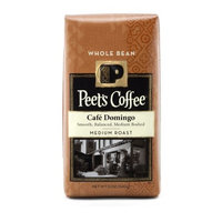 Peet's Coffee & Tea Peet's Whole Bean Coffee, Cafe Domingo, 12-Ounce (Pack of 2)