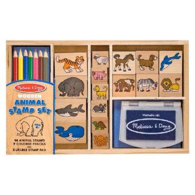 Melissa and Doug Animal Stamp Set ages 4+