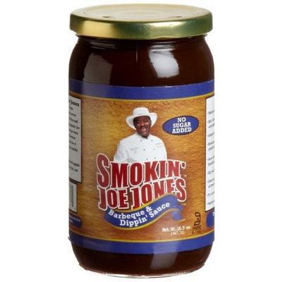 Smokin' Joe Jones No Sugar Added Barbeque & Dippin' Sauce, 16.5-Ounce Glass Jars (Pack of 3)