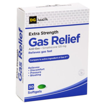 DG Health Extra-Strength Gas Relief - 30 ct
