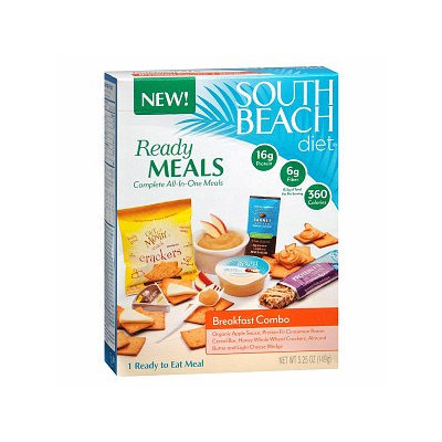 South Beach Diet Ready Meals Complete All-In-One Meals