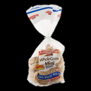 Pepperidge Farm Whole Grain Mini Bagels - 12 CT
