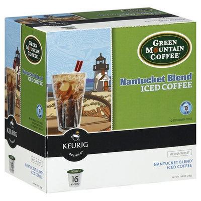 Keurig K-Cups, Medium Roast Nantucket Blend Iced Coffee, 16ct