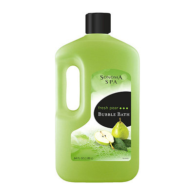 Sonoma Spa Fresh Pear Bubble Bath