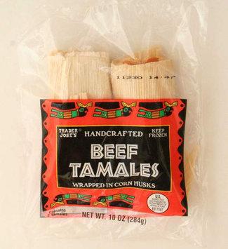Trader Joe's Beef Tamales