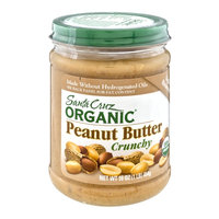 Santa Cruz Organic Lightly Roasted Crunchy Peanut Butter