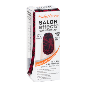 Sally Hansen Salon Effects Real Nail Polish Strips 480 I Love Lacey - 16 CT