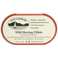 Bar Harbor Wild Herring Fillets, Tomato Basil Sauce, 6.7 Ounce (Pack of 12)