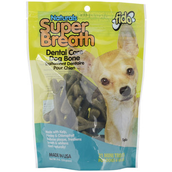 Fido Super Breath Treats 8oz Bag-Mini