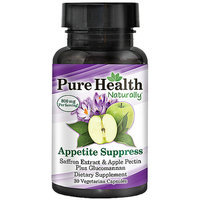 Pure Health Appetite Suppress Dietary Supplement Capsules
