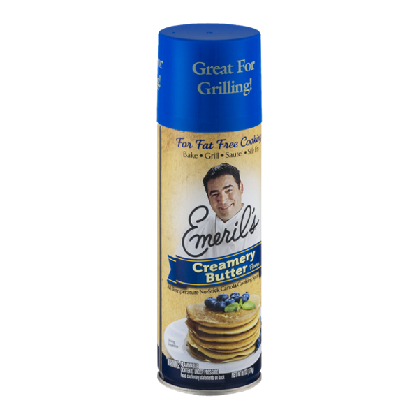 Emeril's Creamery Butter No-Stick Canola Cooking Spray