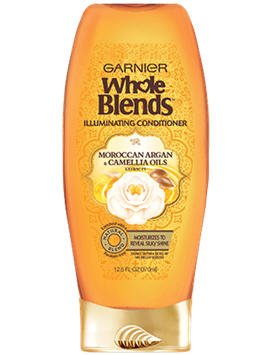 Garnier Whole Blends™ Illuminating Conditioner with Moroccan Argan and Camellia Oils Extracts