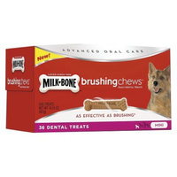 Milk-Bone Milk Bone Brushing Chews Dental Dog Treats - Mini (36 Count)