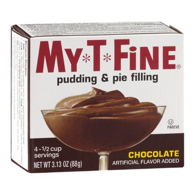 My-T-Fine Pudding & Pie Filling Chocolate