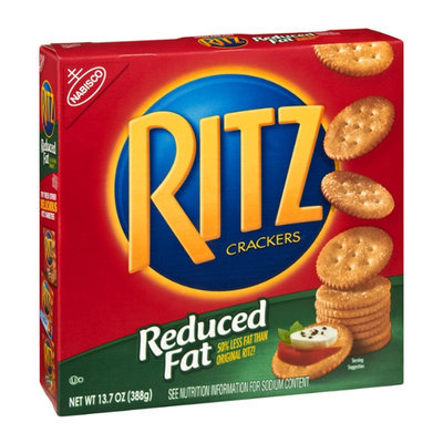 Nabisco® Ritz Reduced Fat Crackers