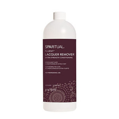 SpaRitual Fluent Extra Strength Conditioning Lacquer Remover, 33 fl oz