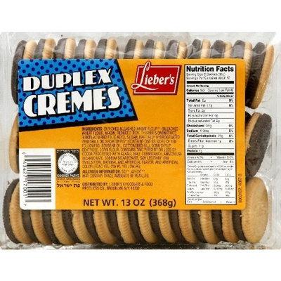Liebers Lieber's Cookies Duplex Creme 13 oz. (Pack of 12)
