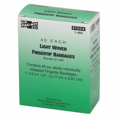 PAC-KIT 1-460G Bandage, Beige, Fabric, Box, PK40