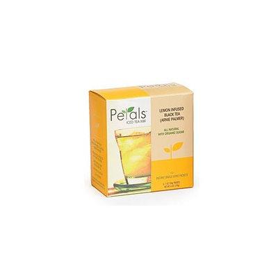 Petals Tea Black Lemon Infused 6 oz (Pack Of 6)