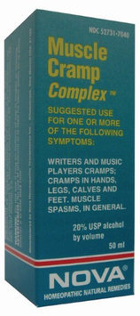 Nova Homeopathic Muscle Cramp Complex 1.7 OZ