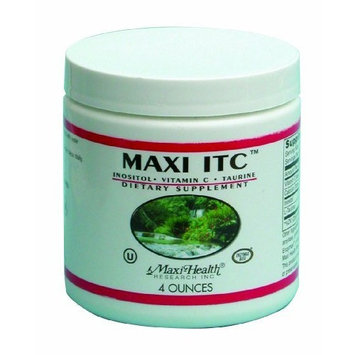 Maxi ITC Powder-Inositol,Vitamin C,Taurine 4-Ounce.Bottle
