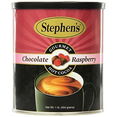 Stephen's Gourmet Hot Cocoa, Chocolate Raspberry, 16-Ounce Cans (Pack of 6)