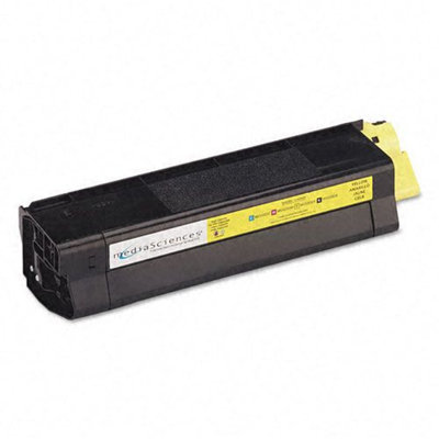 Media Sciences Yellow High Capacity Toner Cartridge