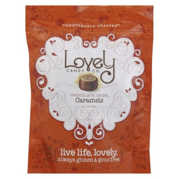 6 oz Lovely Candy Company Caramel Mixed Chocolate Candy Variety Pack