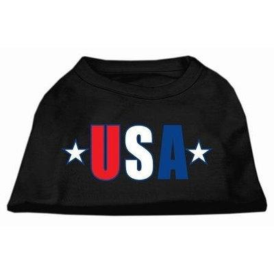 Ahi USA Star Screen Print Shirt Black XS (8)