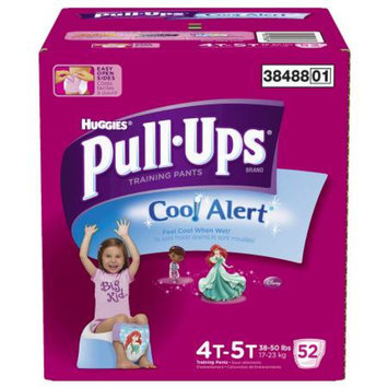 Huggies Pull-Ups Pull-Ups Training Pants with Cool Alert for Girls Super Pack - 4T-5T