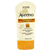 Aveeno® Continuous Protection®  Sunblock LotionsSPF 55