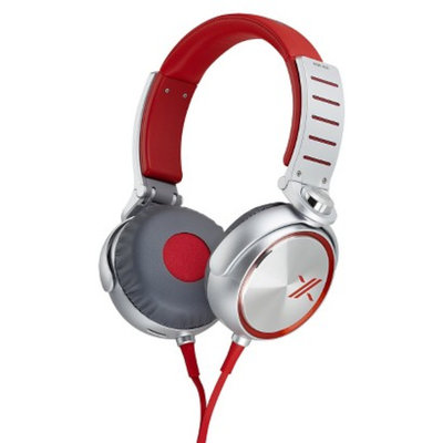 Sony X05 Series Headphones - Red/Silver (MDRX05/RS)