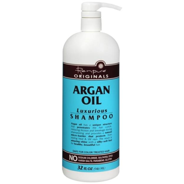 Renpure Originals Argan Oil Luxurious Shampoo, 32 fl oz
