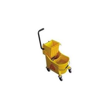 Maxirough O Cedar Commercial Products 881067 Maxiplus Mop Bucket & Wringer 36 Quart Yellow